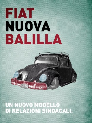 Fiat Nuova Balilla: un nuovo modello. Di relazioni sindacali